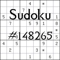 Sudoku №148265