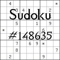 Sudoku №148635