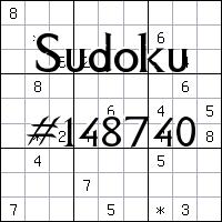 Sudoku №148740