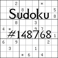 Sudoku №148768