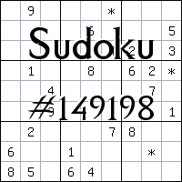 Sudoku №149198