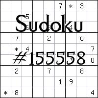 Sudoku №155558