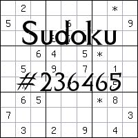 Sudoku №236465