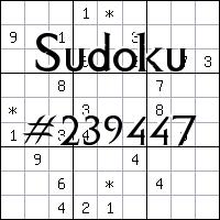 Sudoku №239447