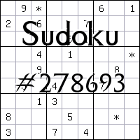 Sudoku №278693