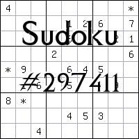 Sudoku №297411