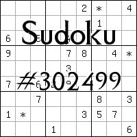 Sudoku №302499