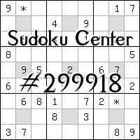 Centro de Sudoku №299918