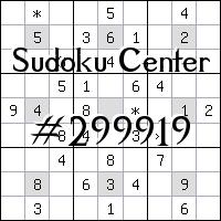 Centro de Sudoku №299919
