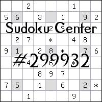 Centro de Sudoku №299932