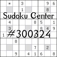 Centro de Sudoku №300324
