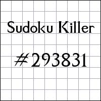 Sudoku asesino №293831