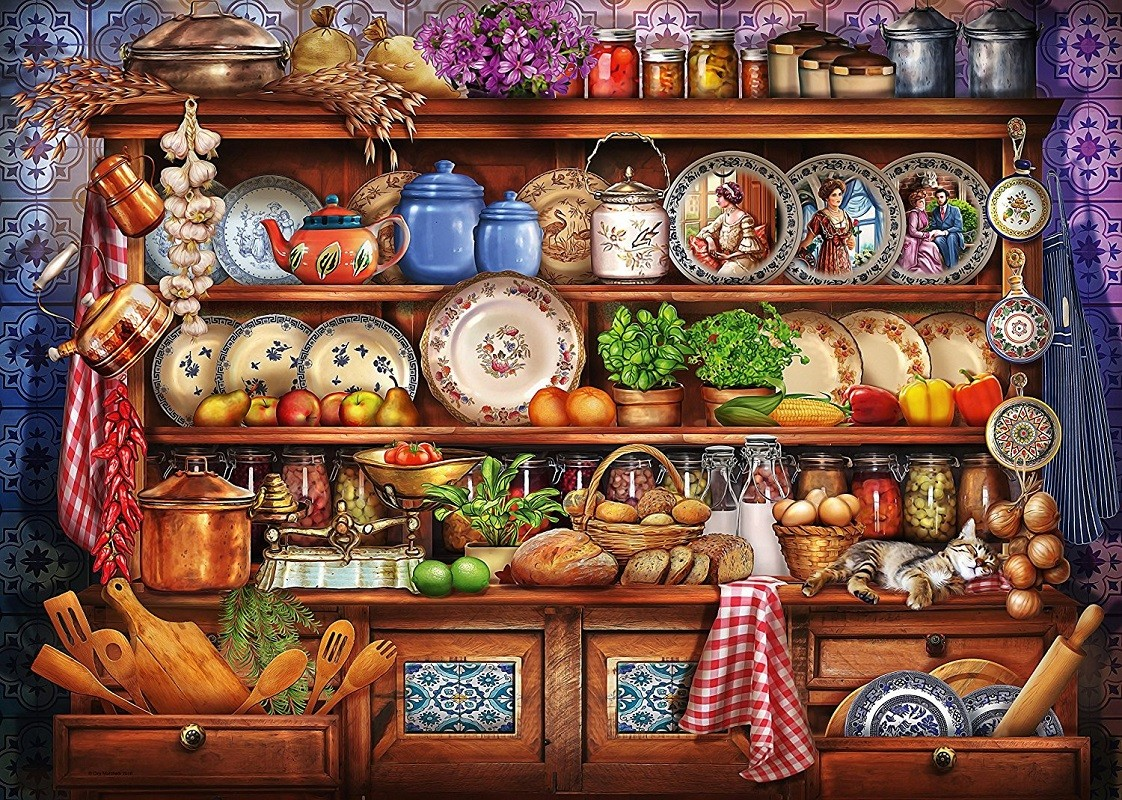 Rompecabezas Recoger rompecabezas en línea - Grandma's pantry