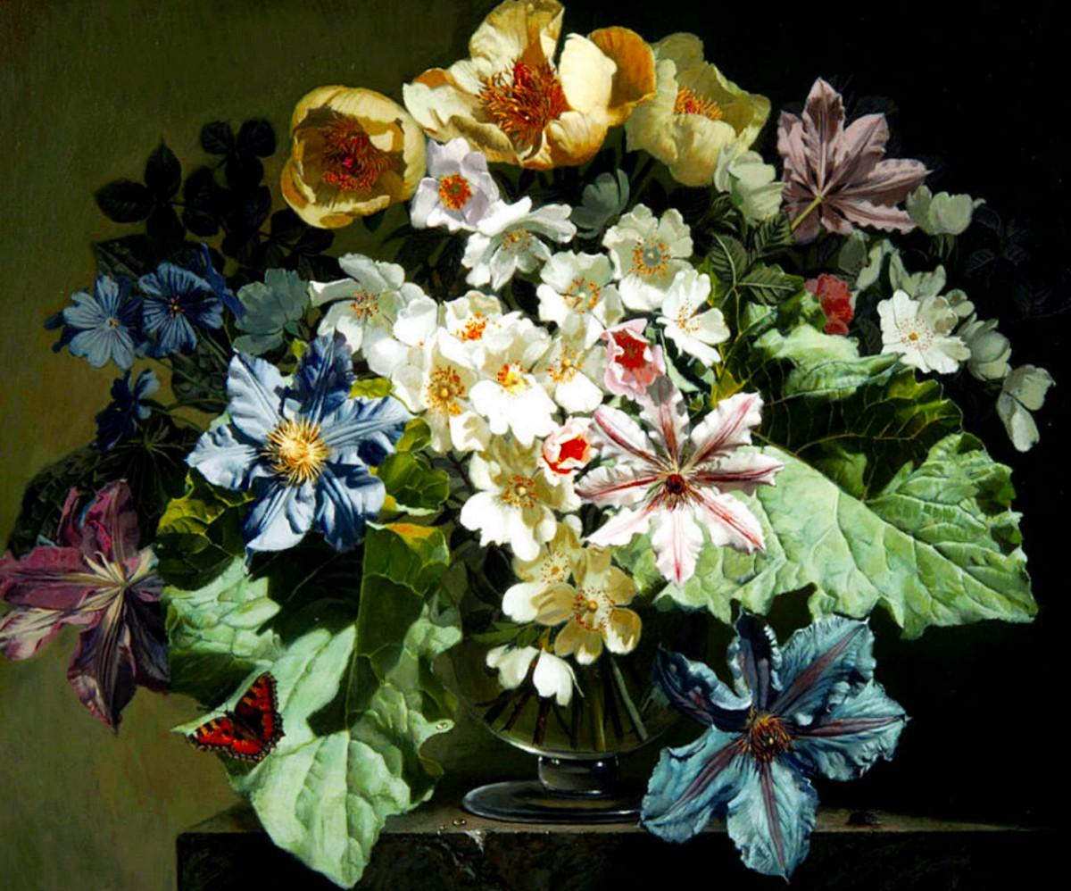 Rompecabezas Recoger rompecabezas en línea - A large bouquet