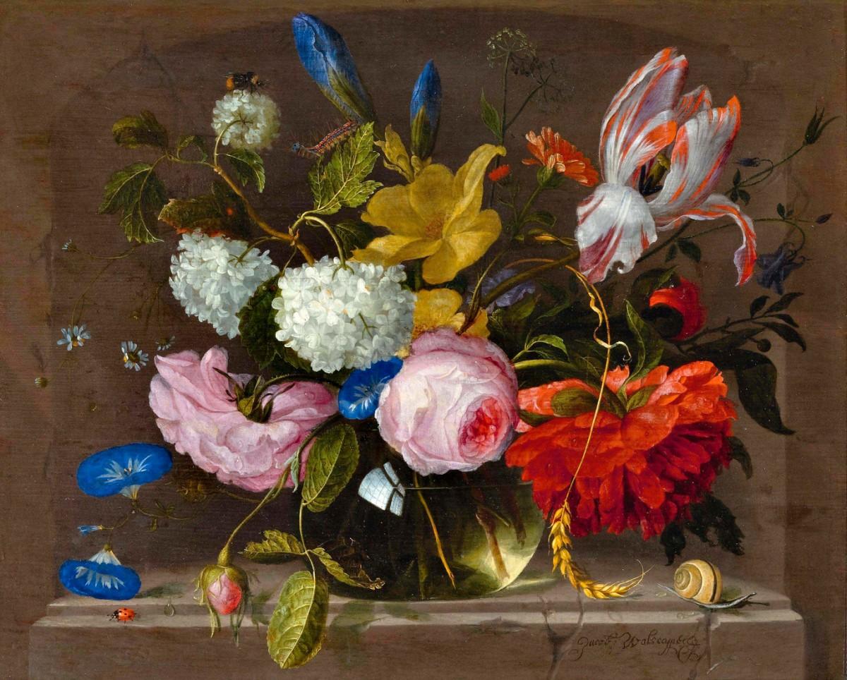 Rompecabezas Recoger rompecabezas en línea - Bouquet in a vase