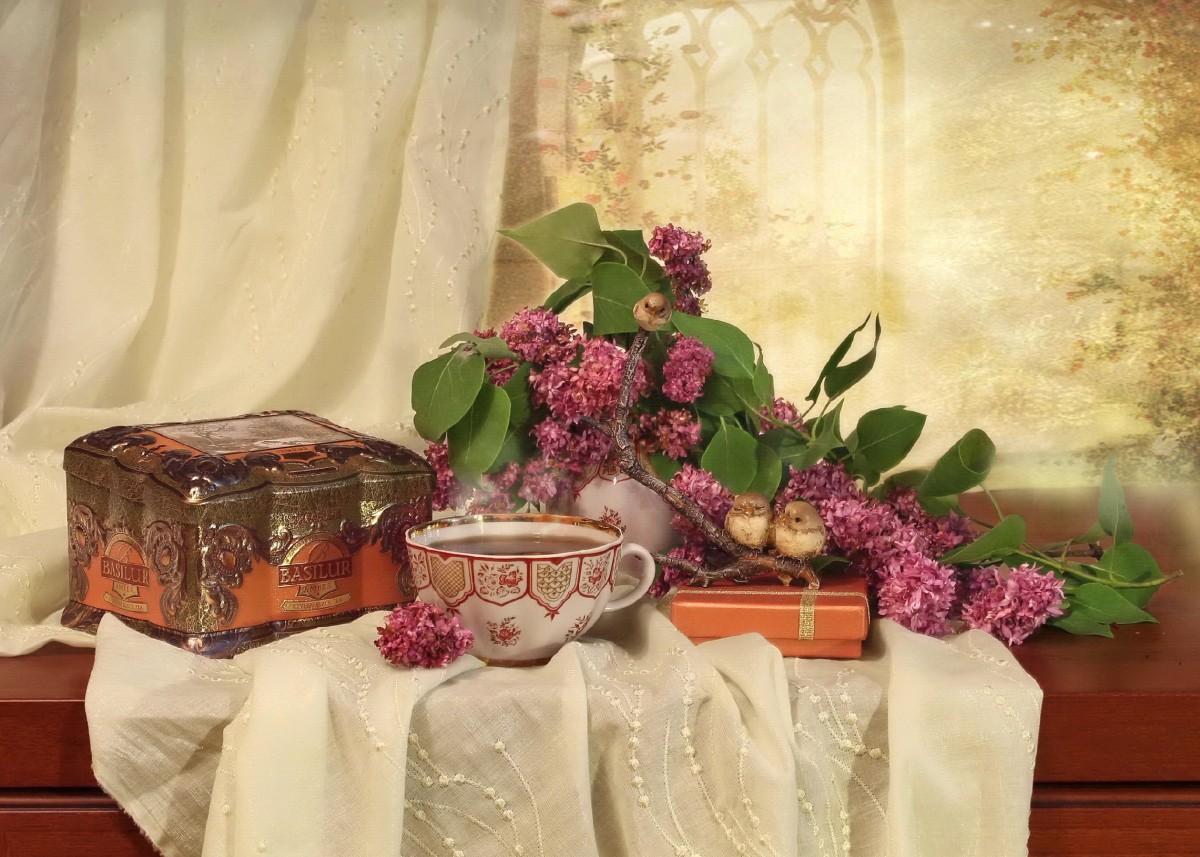 Rompecabezas Recoger rompecabezas en línea - Tea still life