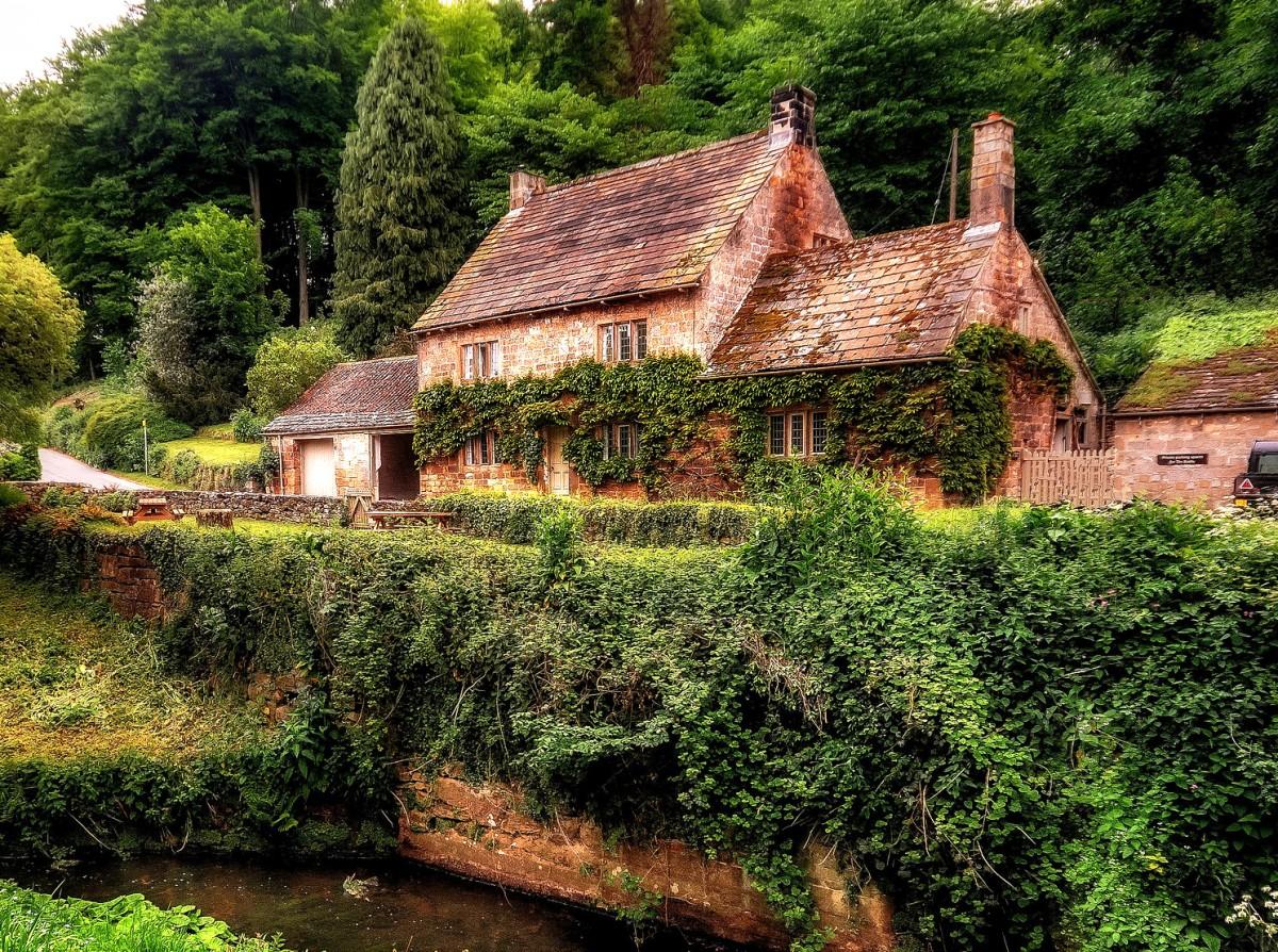 Rompecabezas Country cottage
