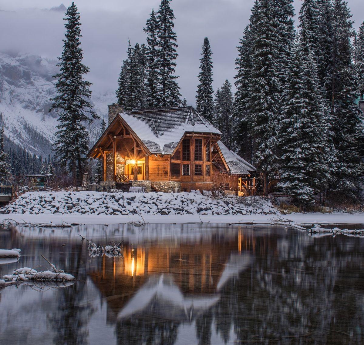 Rompecabezas Recoger rompecabezas en línea - The house on the lake