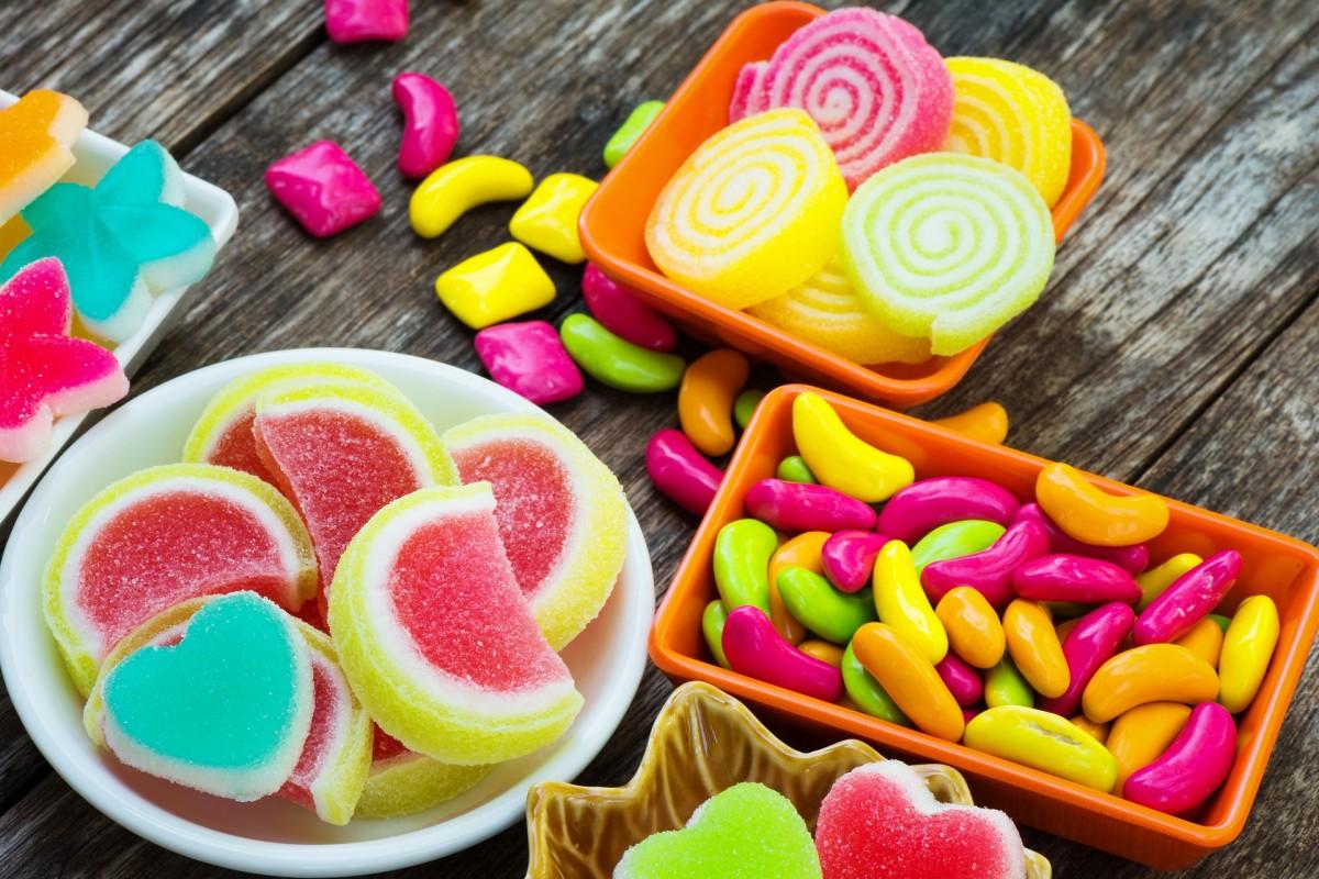 Rompecabezas Recoger rompecabezas en línea - Jelly beans and marmalade