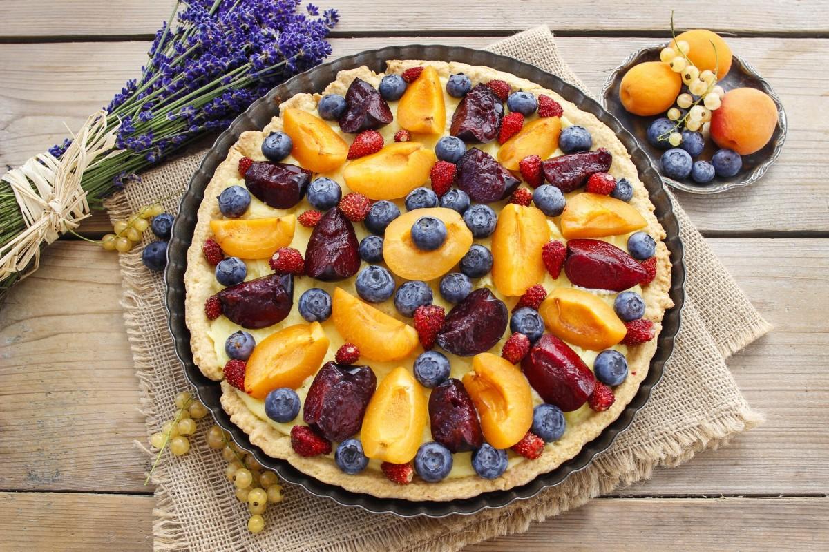 Rompecabezas Recoger rompecabezas en línea - Fruit pizza