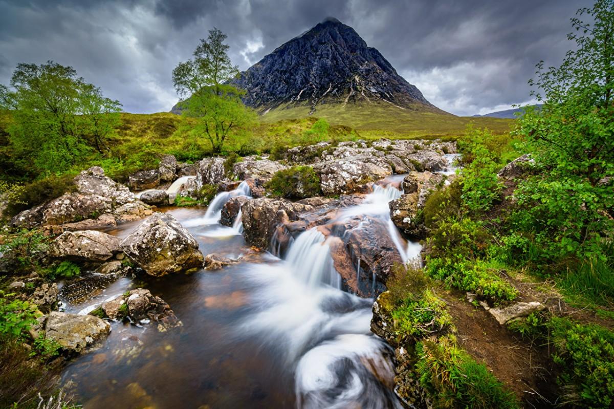 Rompecabezas Recoger rompecabezas en línea - Mountain in Scotland