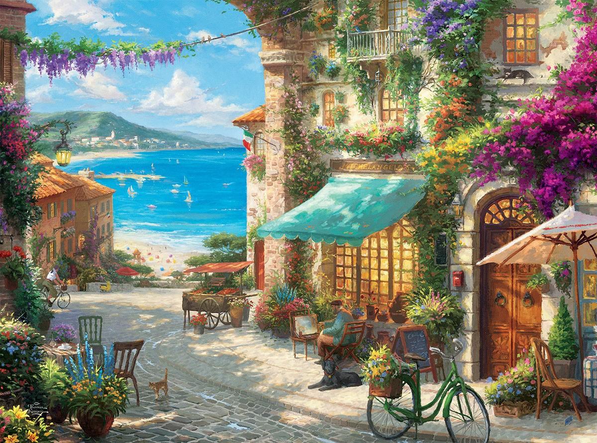 Rompecabezas Recoger rompecabezas en línea - Italian cafe