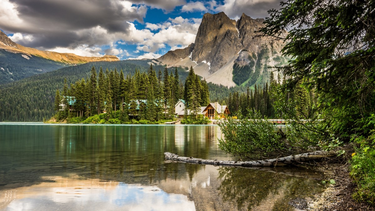 Rompecabezas Recoger rompecabezas en línea - Emerald lake