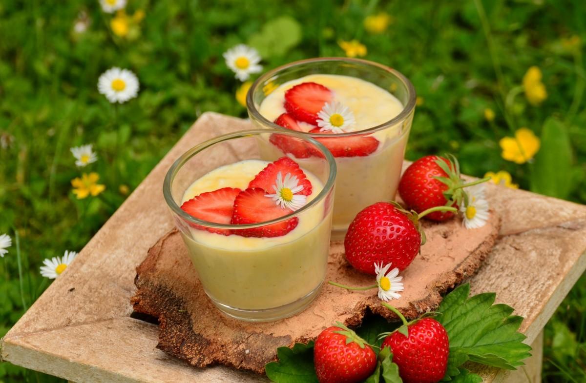 Rompecabezas Recoger rompecabezas en línea - Yogurt