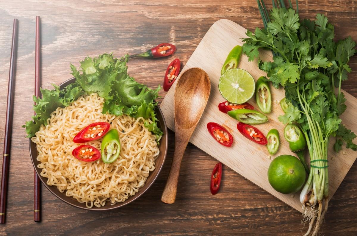 Rompecabezas Recoger rompecabezas en línea - Chinese food