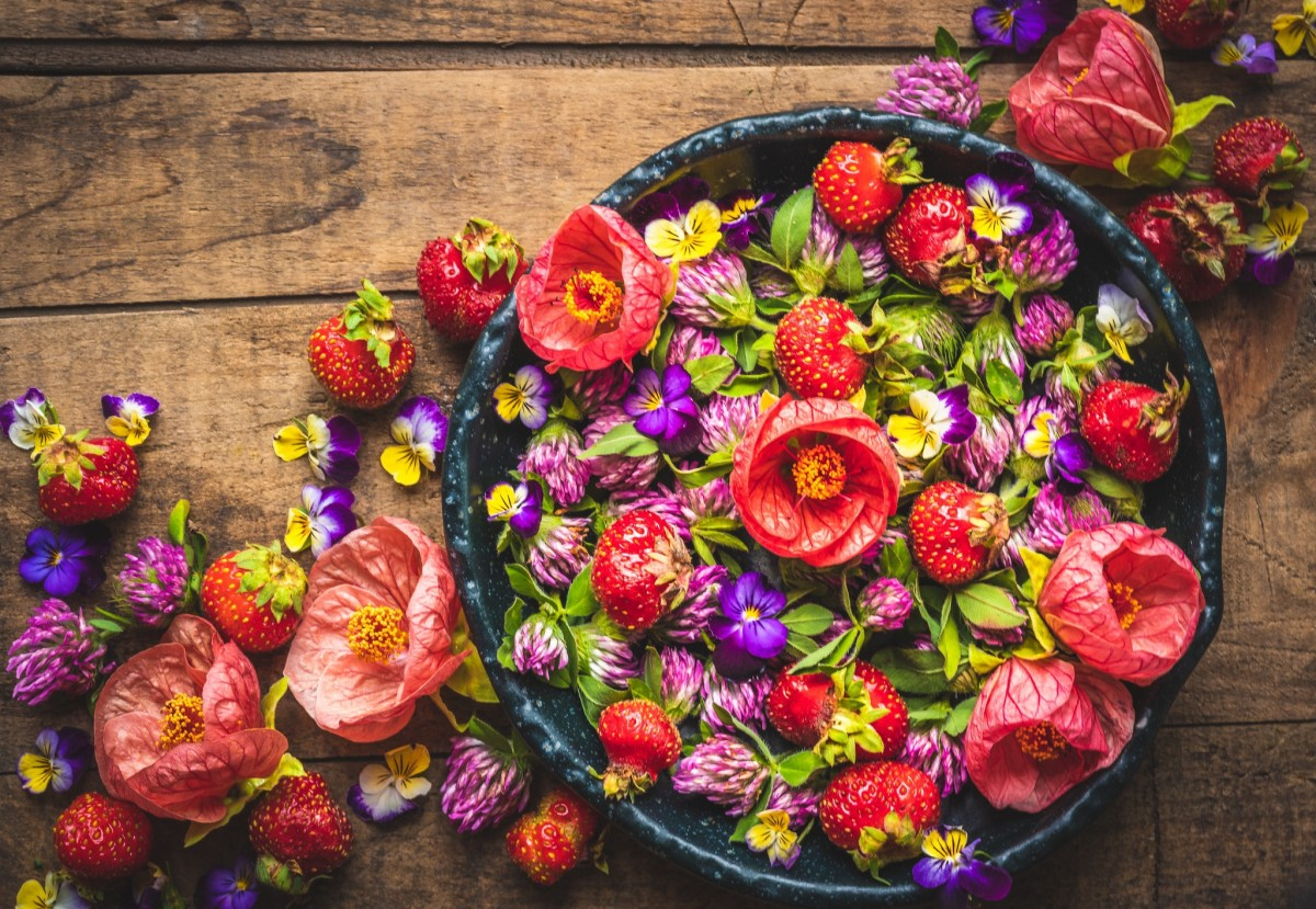 Rompecabezas Recoger rompecabezas en línea - Strawberry colors
