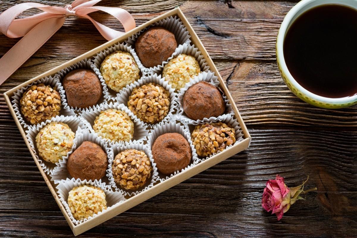 Rompecabezas Recoger rompecabezas en línea - A box of chocolates