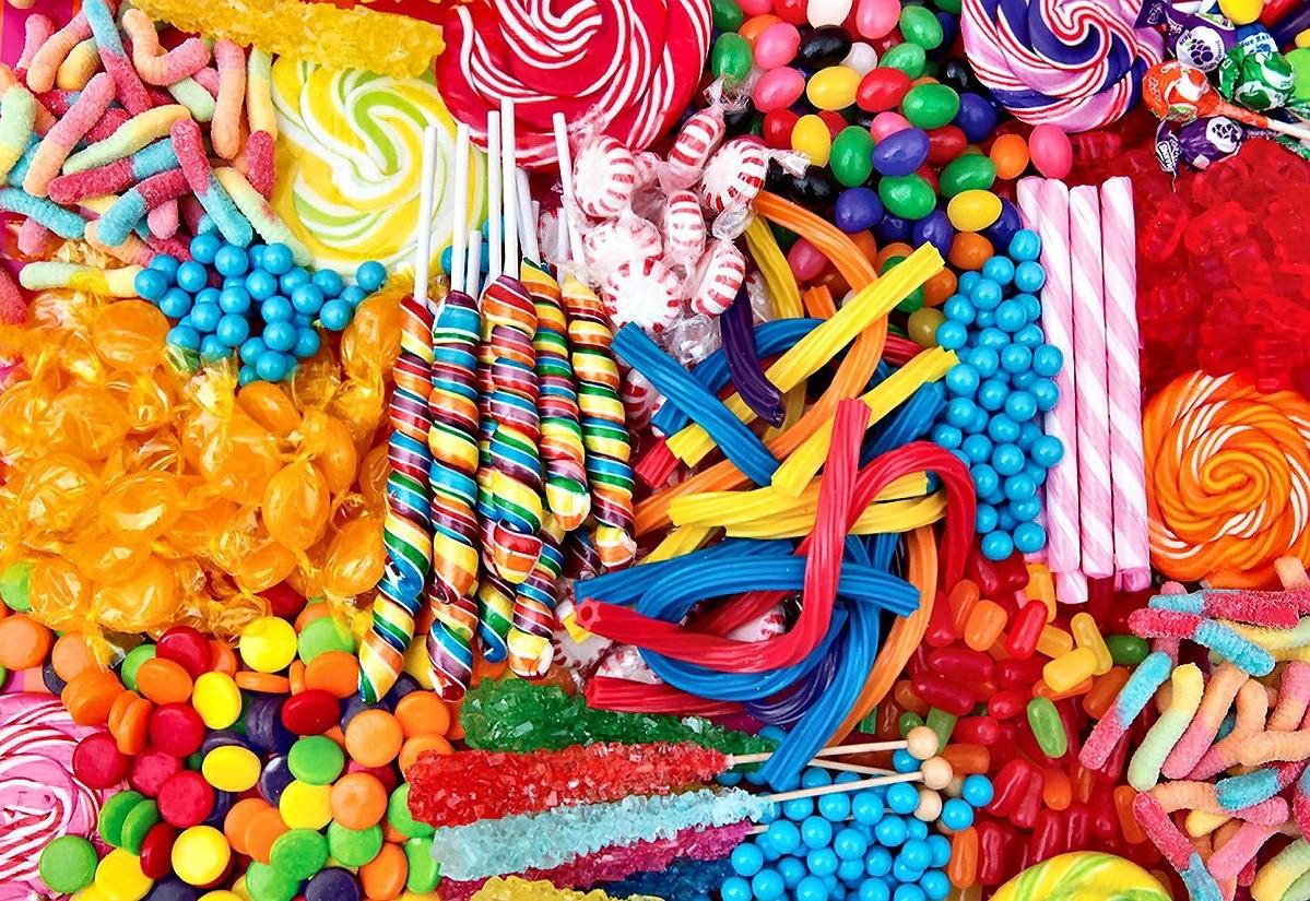 Rompecabezas Recoger rompecabezas en línea - Candy assorted