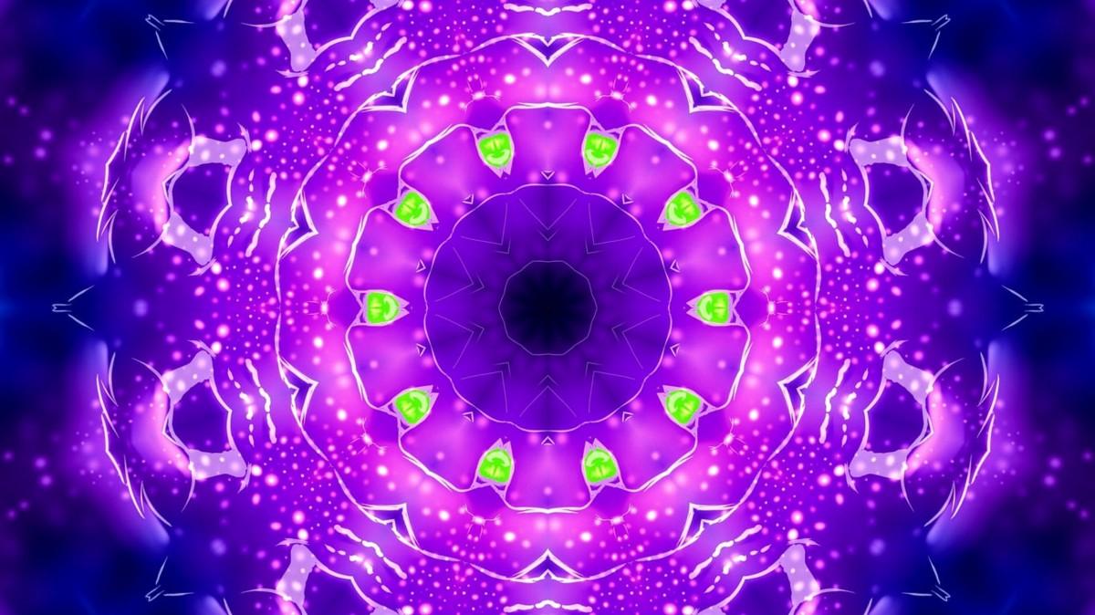 Rompecabezas Recoger rompecabezas en línea - Magic fractal