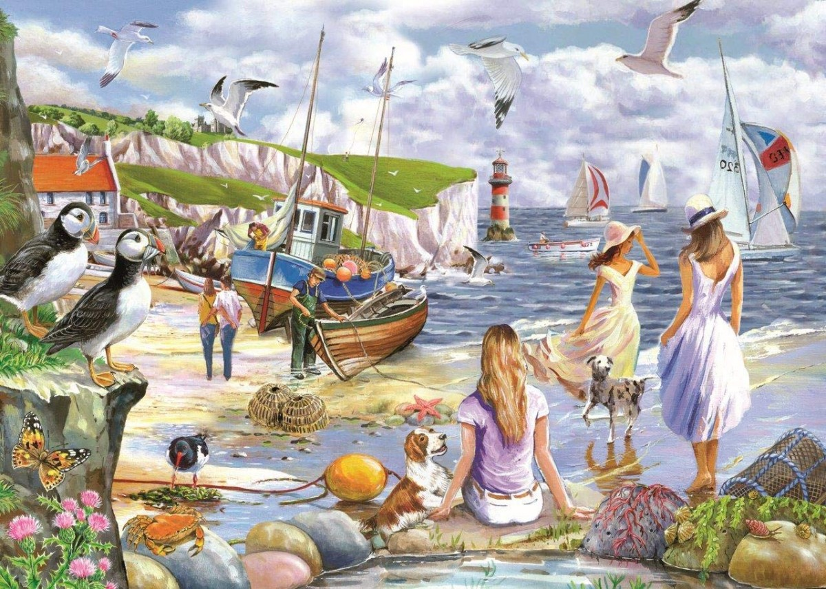 Rompecabezas Recoger rompecabezas en línea - On the shore