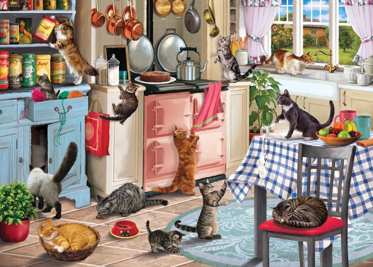Rompecabezas Recoger rompecabezas en línea - In the kitchen