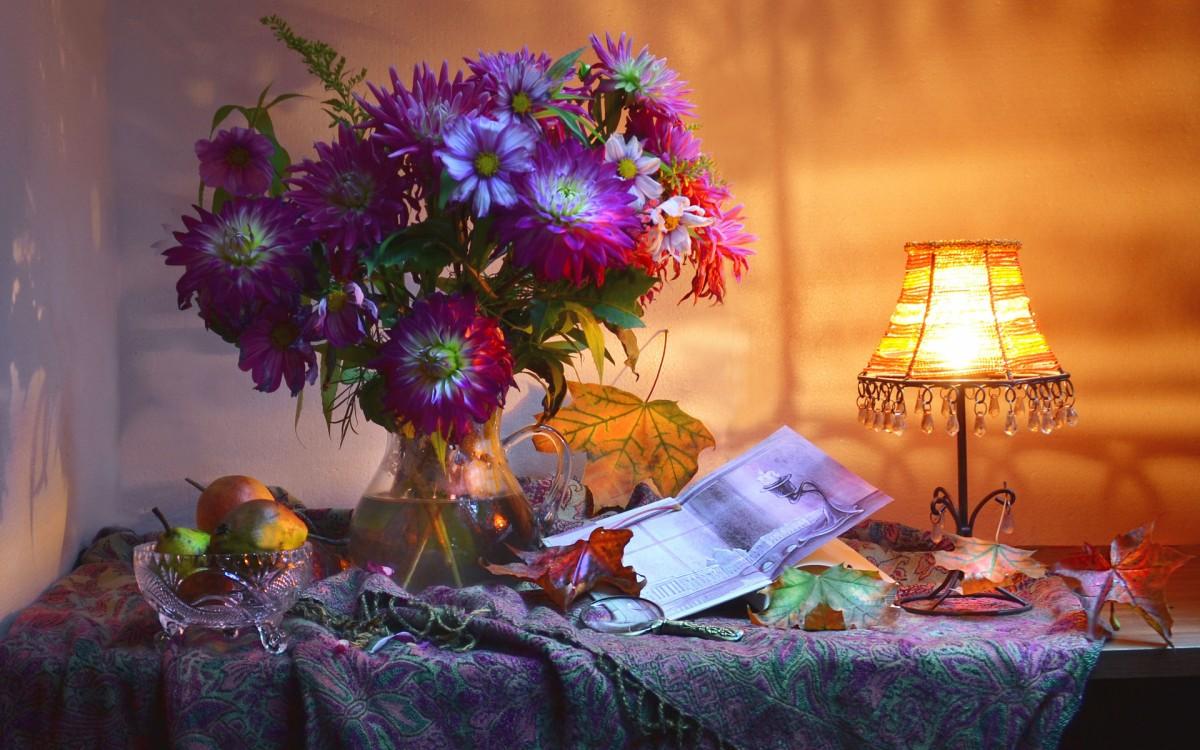Rompecabezas Recoger rompecabezas en línea - Still life of autumn