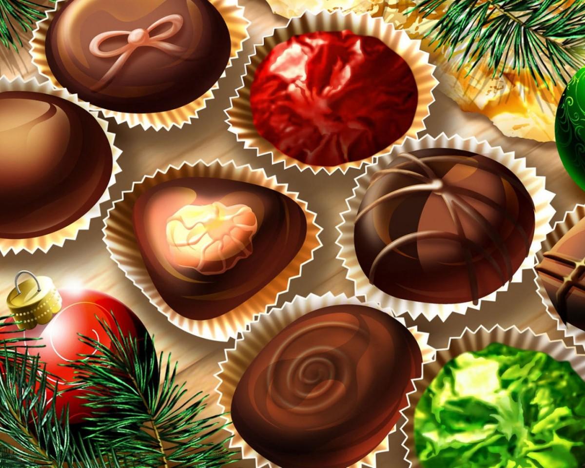 Rompecabezas Recoger rompecabezas en línea - Christmas candy