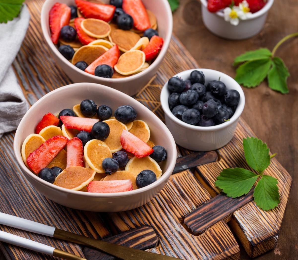Rompecabezas Recoger rompecabezas en línea - Pancakes and berries