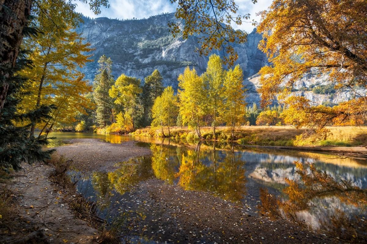 Rompecabezas Recoger rompecabezas en línea - Autumn in Yosemite