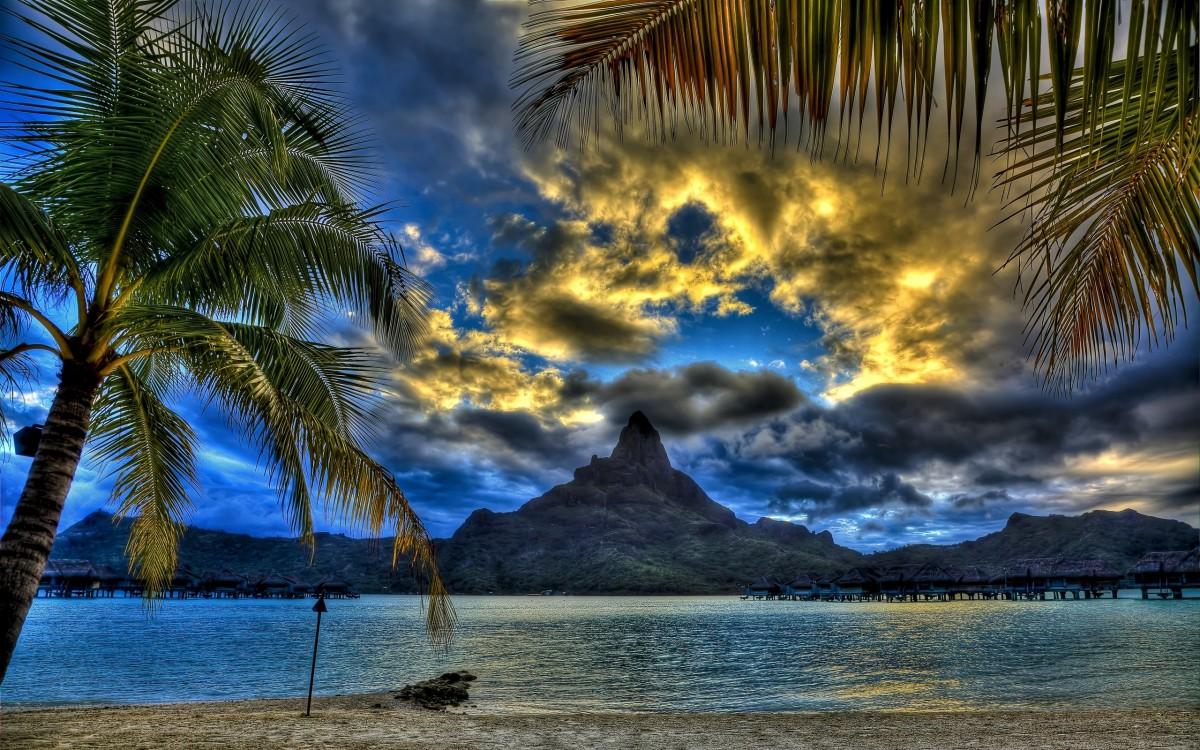 Rompecabezas Recoger rompecabezas en línea - Bora Bora Island