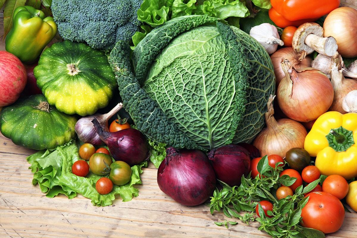 Rompecabezas Recoger rompecabezas en línea - Vegetables
