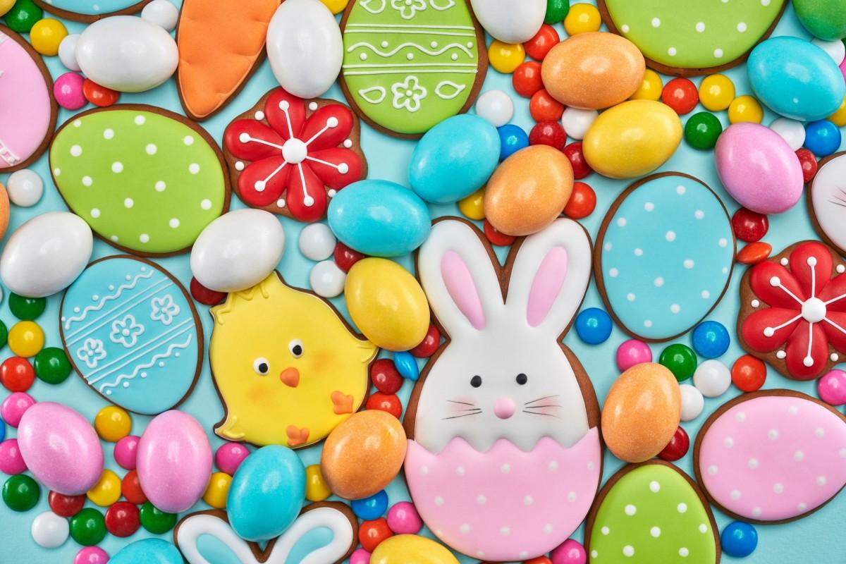 Rompecabezas Recoger rompecabezas en línea - Easter cakes