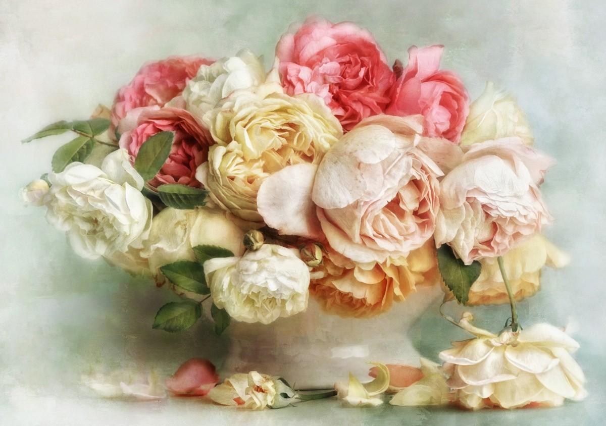 Rompecabezas Recoger rompecabezas en línea - Lush flowers