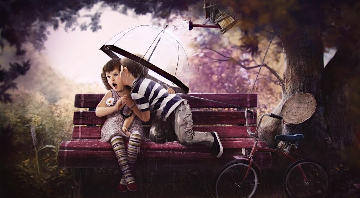 Rompecabezas Under one umbrella