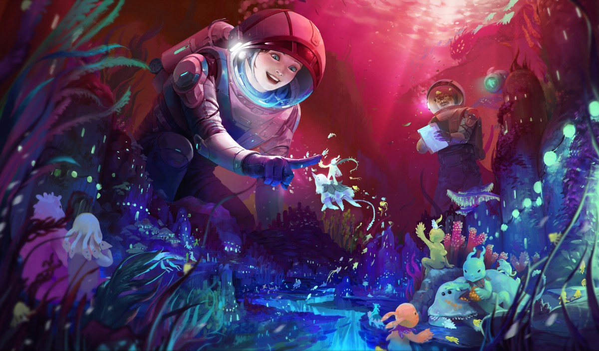 Rompecabezas Recoger rompecabezas en línea - Underwater inhabitants