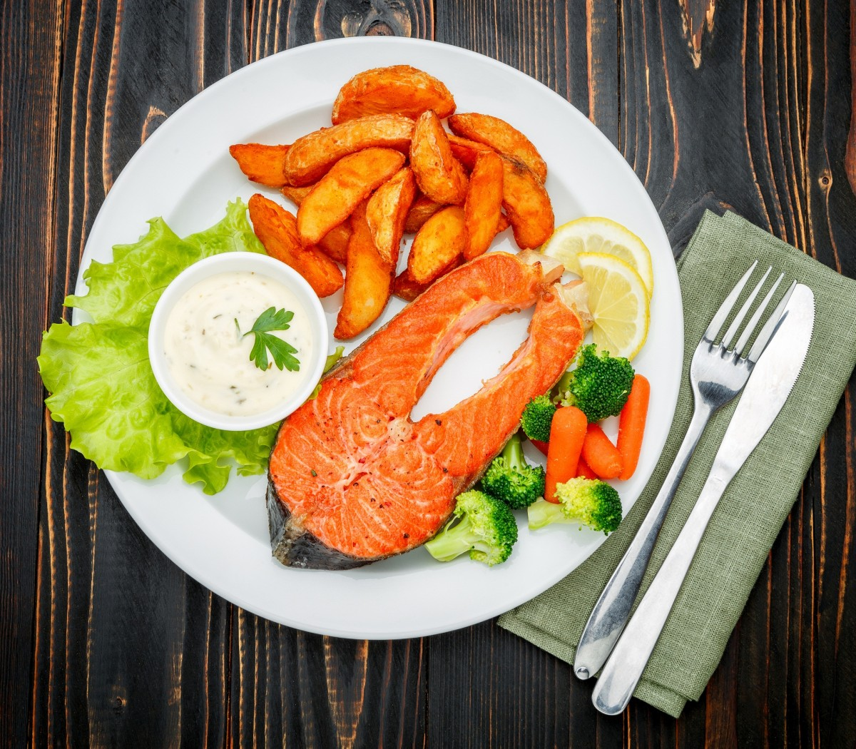 Rompecabezas Fish and potatoes