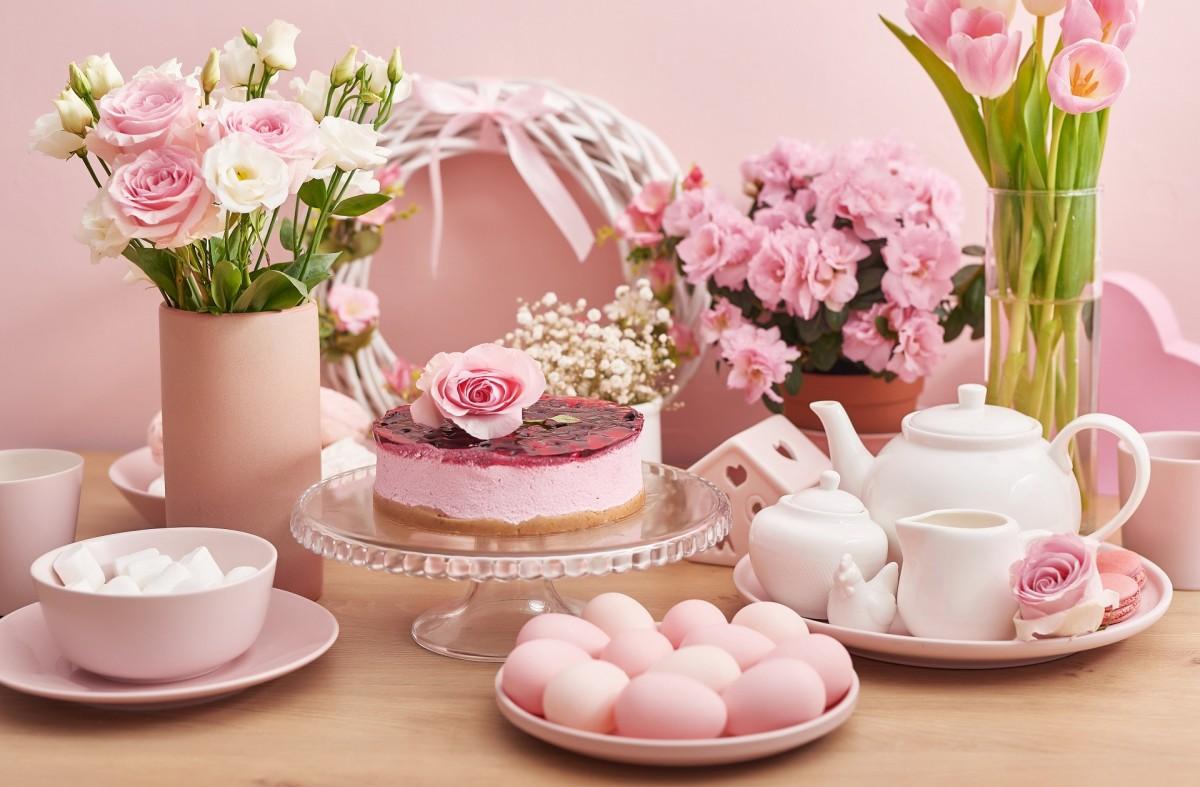 Rompecabezas Recoger rompecabezas en línea - Pink Easter