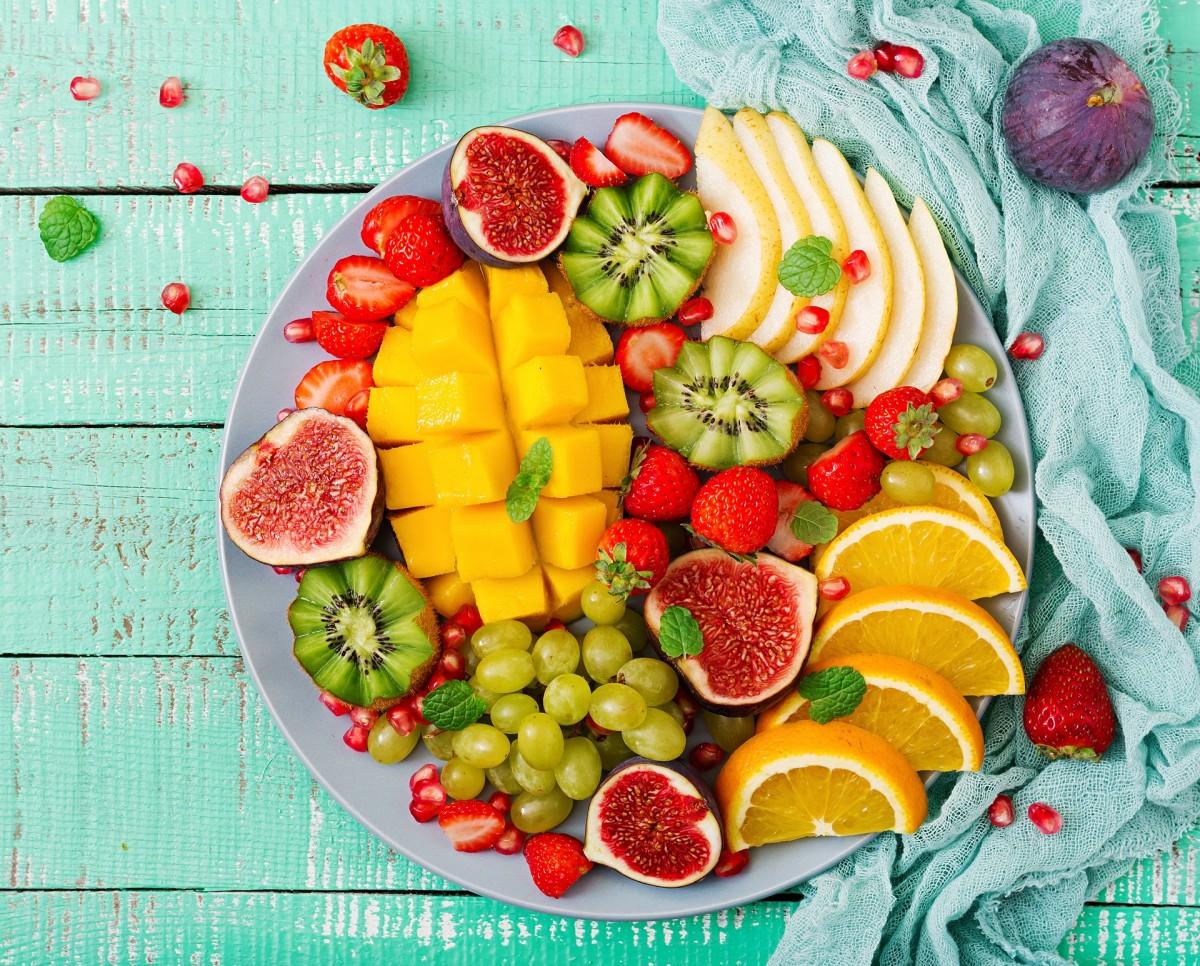 Rompecabezas Recoger rompecabezas en línea - Fruit plate