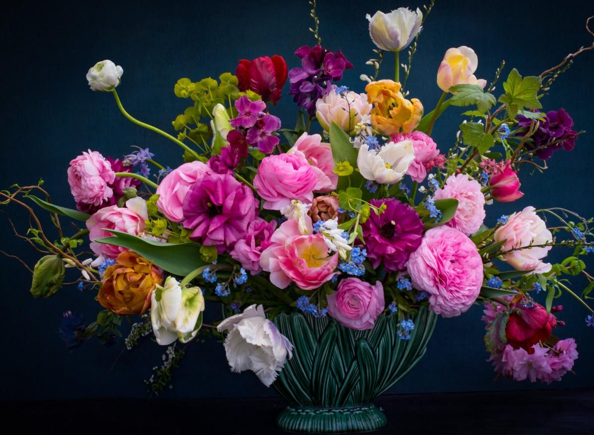 Rompecabezas Recoger rompecabezas en línea - Flowers in a vase