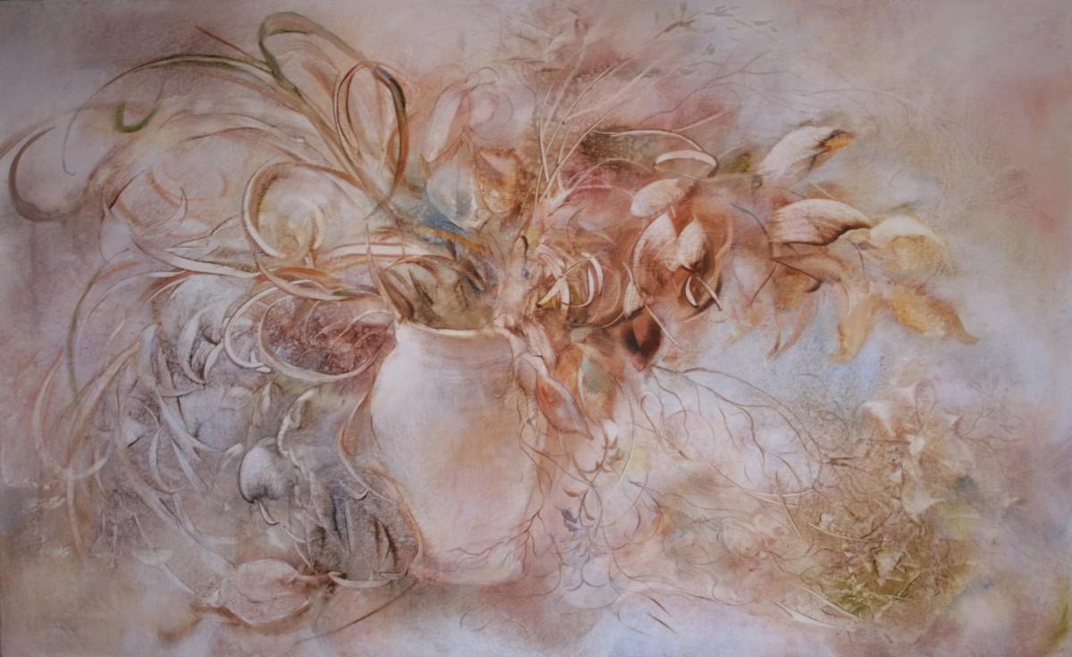 Rompecabezas Recoger rompecabezas en línea - Misty flowers